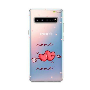 Capa In Love com nome personalizado para Galaxy S
