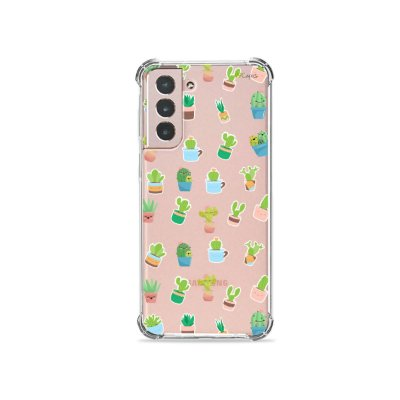 Capa (Transparente) para Galaxy S21 Plus - Cactus