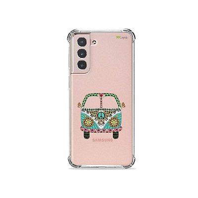 Capa (Transparente) para Galaxy S21 Plus - Kombi