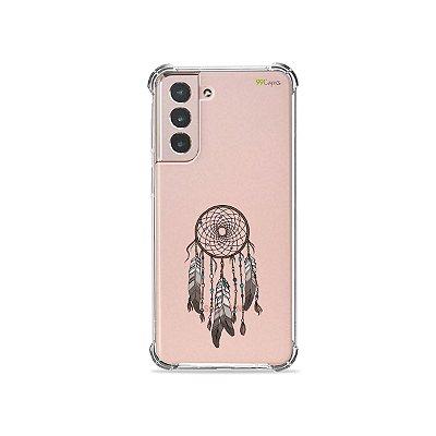 Capa (Transparente) para Galaxy S21 Plus - Filtro dos Sonhos
