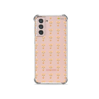 Capa (Transparente) para Galaxy S21 Plus - Chihuahua