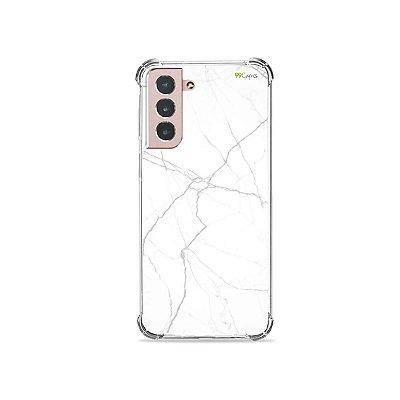 Capa para Galaxy S21 Plus - Marble White