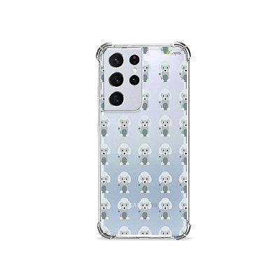Capa (Transparente) para Galaxy S21 Ultra - Poodle