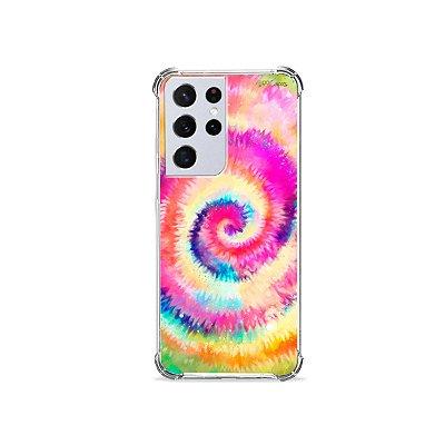 Capa para Galaxy S21 Ultra - Tie Dye