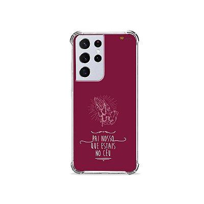 Capa para Galaxy S21 Ultra - Pai Nosso