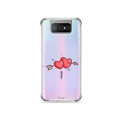 Capa (Transparente) para Zenfone 7 - In Love