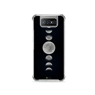 Capa para Zenfone 7 - Fases da Lua
