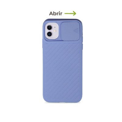 Case Up Lilás (com proteção de câmera) para iPhone 11