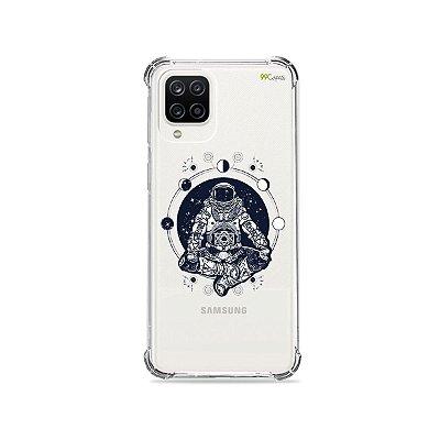 Capa (Transparente) para Galaxy A12 - Astronauta