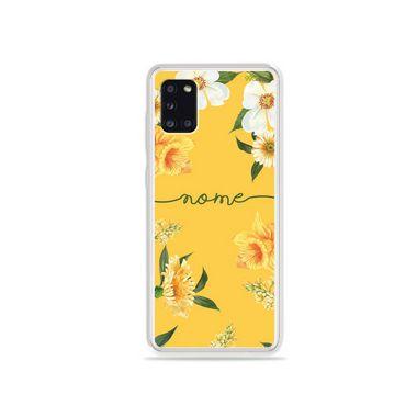 Capa Margaridas com nome personalizado para Galaxy S