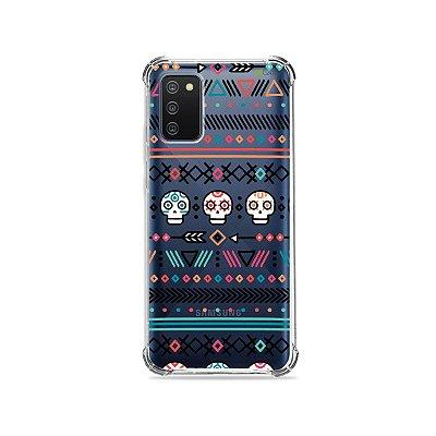 Capa (Transparente) para Galaxy A02s - Tribal