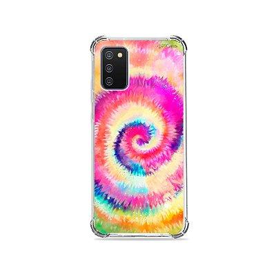 Capa para Galaxy A02s - Tie Dye
