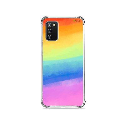 Capa para Galaxy A02s - Rainbow