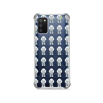 Capa (Transparente) para Galaxy A02s - Poodle