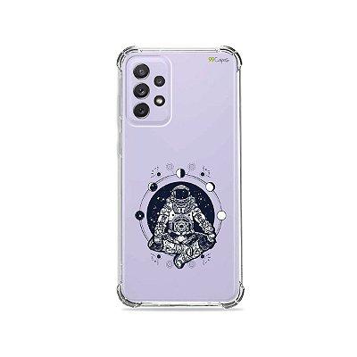 Capa (Transparente) para Galaxy A72 - Astronauta