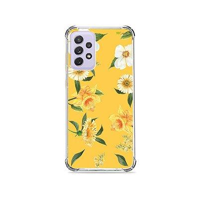 Capa para Galaxy A72 - Margaridas