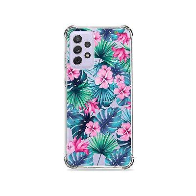 Capa (Transparente) para Galaxy A72 - Tropical