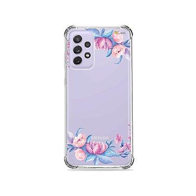 Capa (Transparente) para Galaxy A72 - Bromélias