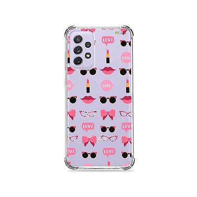 Capa (Transparente) para Galaxy A72 - Girls
