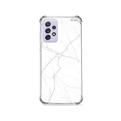 Capa para Galaxy A72 - Marble White