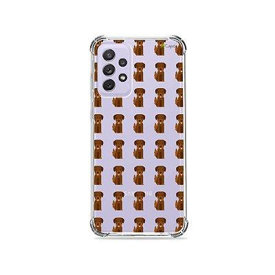 Capa (Transparente) para Galaxy A72 - Golden