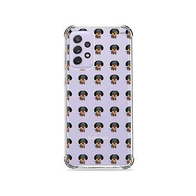 Capa (Transparente) para Galaxy A72 - Salsichinha