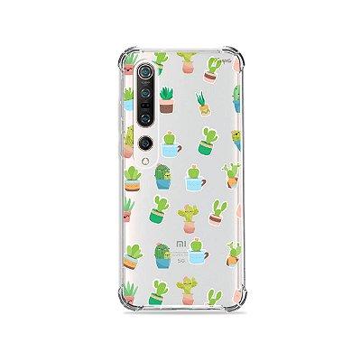 Capa (Transparente) para Xiaomi Mi 10 Pro - Cactus