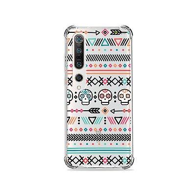 Capa (Transparente) para Xiaomi Mi 10 Pro - Tribal