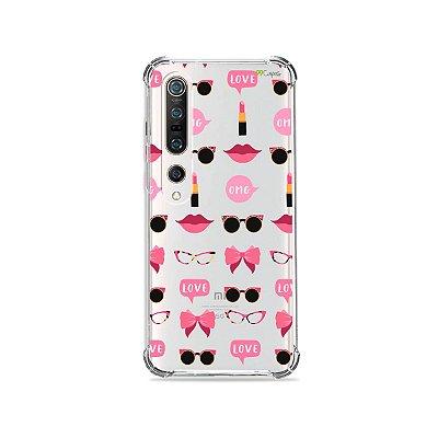Capa (Transparente) para Xiaomi Mi 10 Pro - Girls