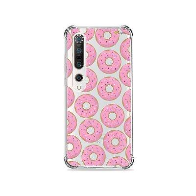 Capa (Transparente) para Xiaomi Mi 10 Pro - Donuts