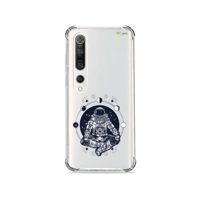 Capa (Transparente) para Xiaomi Mi 10 Pro - Astronauta