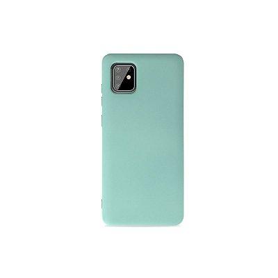 Silicone Case Azul Claro para Galaxy Note 10 Lite - 99Capas