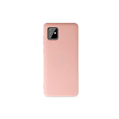 Silicone Case Rosa Claro para Galaxy Note 10 Lite - 99Capas
