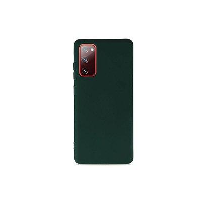 Silicone Case Verde Cacto para Galaxy S20 FE