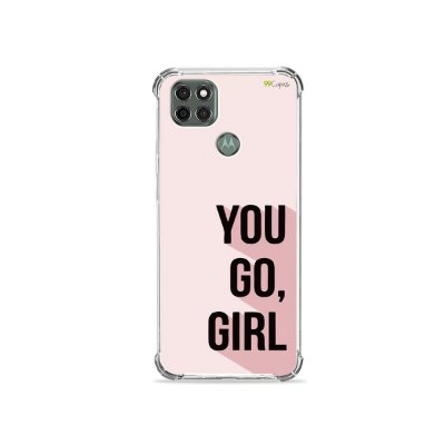 Capa para Moto G9 Power - You Go, Girl