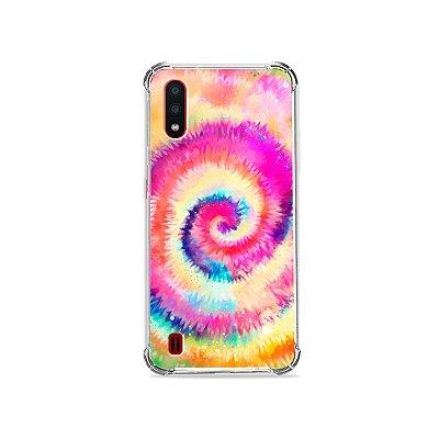 Capa para Galaxy A01 - Tie Dye