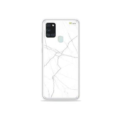 Capa para Galaxy A21s - Marble White