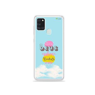 Capa para Galaxy A21s - Amar a Deus