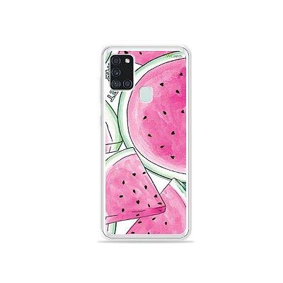 Capa para Galaxy A21s - Watermelon