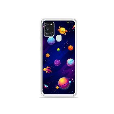 Capa para Galaxy A21s - Galáxia