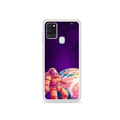 Capa para Galaxy A21s - Selfie Galactica