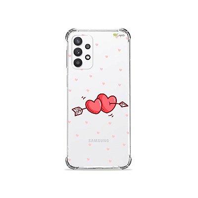 Capa (Transparente) para Galaxy A32 4G - In Love