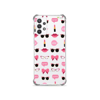 Capa (Transparente) para Galaxy A32 4G - Girls