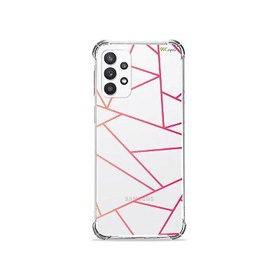 Capa (Transparente) para Galaxy A32 4G - Abstract