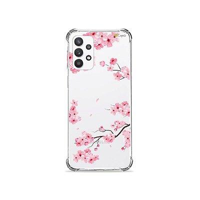 Capa (Transparente) para Galaxy A52 - Cerejeiras