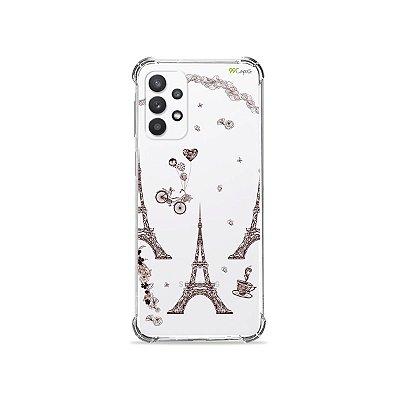 Capa (Transparente) para Galaxy A52 - Paris