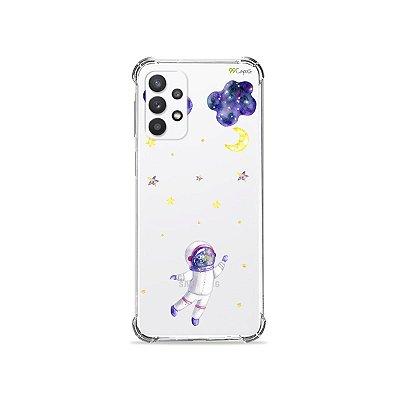 Capa (Transparente) para Galaxy A52 - Astronauta Sonhador