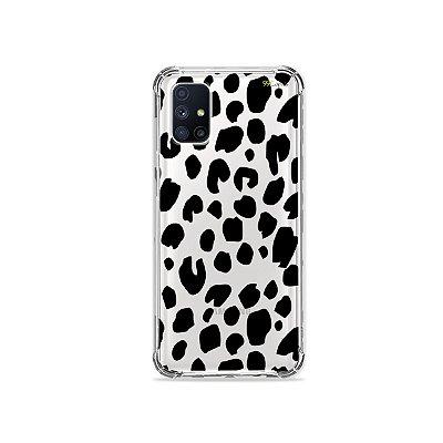 Capa (Transparente) para Galaxy M51 - Animal Print Basic