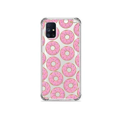 Capa (Transparente) para Galaxy M51 - Donuts