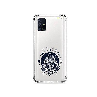 Capa (Transparente) para Galaxy M51 - Astronauta
